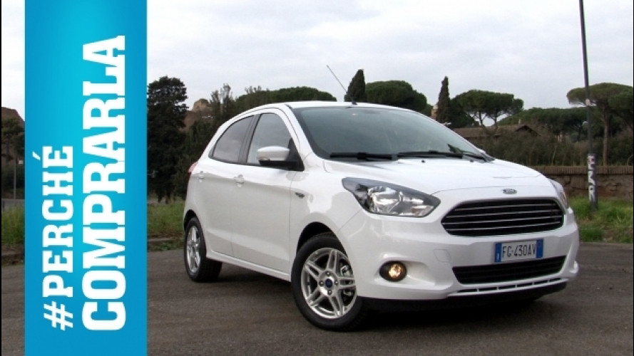 Ford Ka Plus, perché comprarla... e perché no [VIDEO]