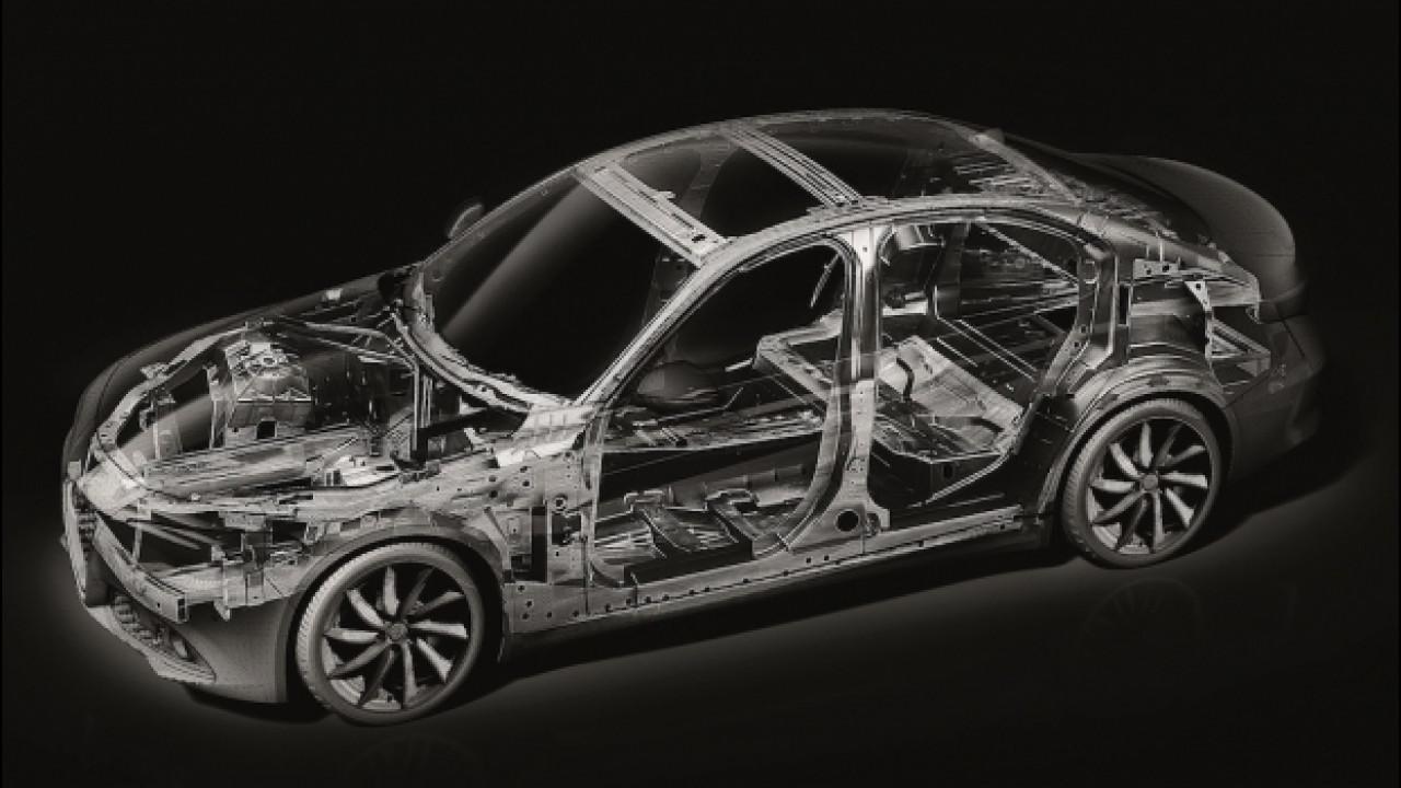 [Copertina] - Alfa Romeo Giulia, le future Maserati nasceranno sulla sua piattaforma