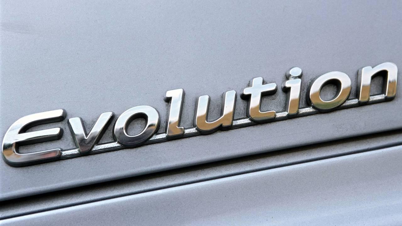 Mitsubishi Evolution Badge