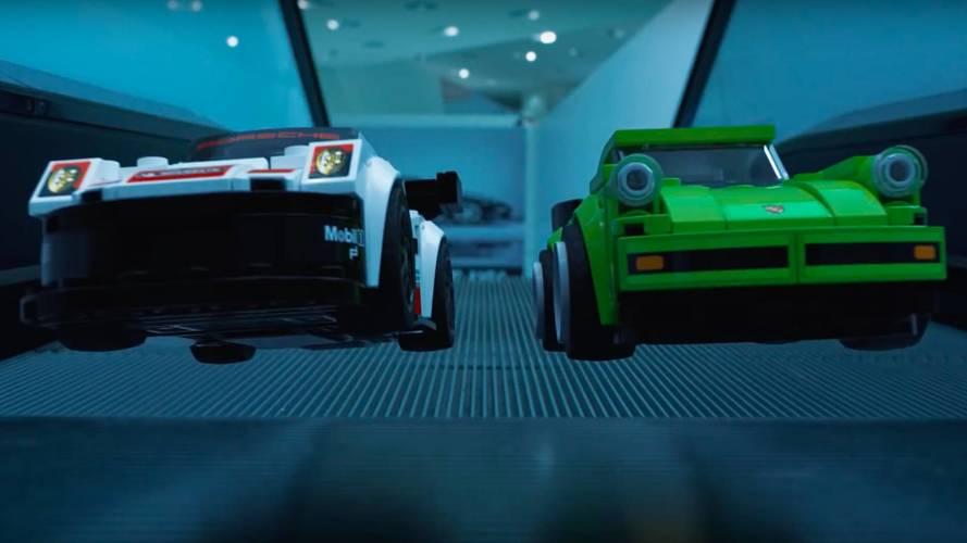 Vidéo - Porsche met en scène ses nouveaux Lego, et c'est très réussi!