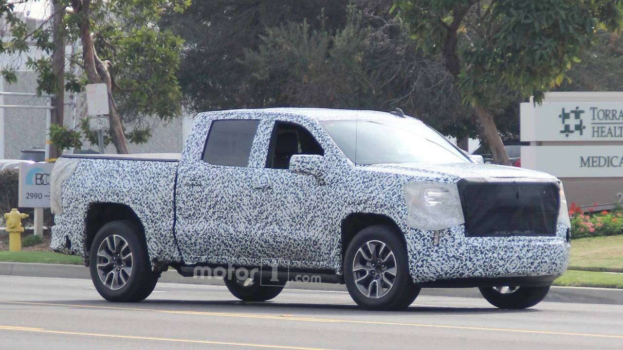 2019 GMC Sierra Spy Photo