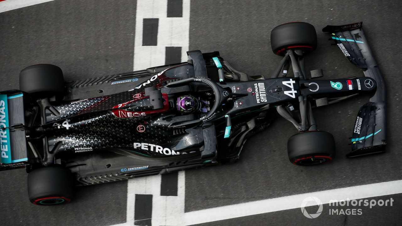Lewis Hamilton at 70th Anniversary GP at Silverstone 2020