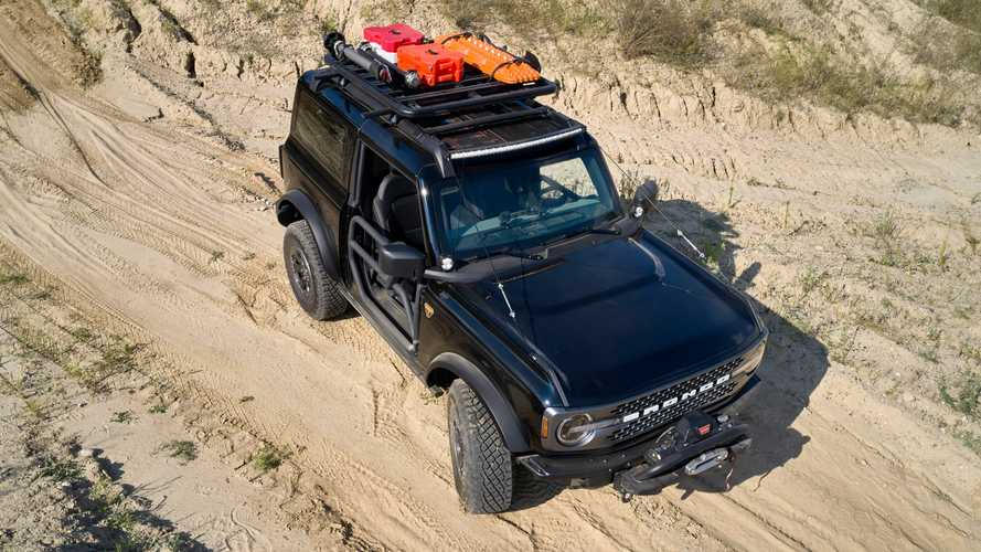 Ford Bronco Trail Rig, Bronco Fishing Guide, Bronco Sport Trail Rig, Bronco Sport Tow RZR, and Bronco Sport Off-Roadeo Adventure Patrol concepts