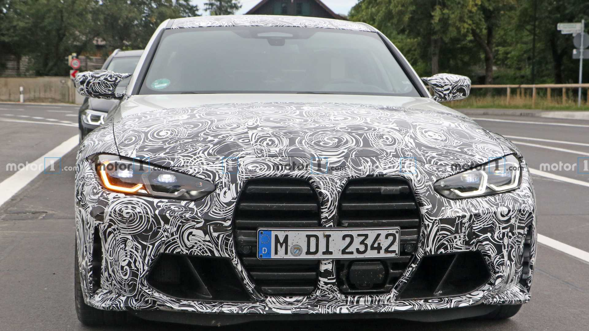 2020 - [BMW] M3/M4 - Page 20 Bmw-m3-spy-shots-nose