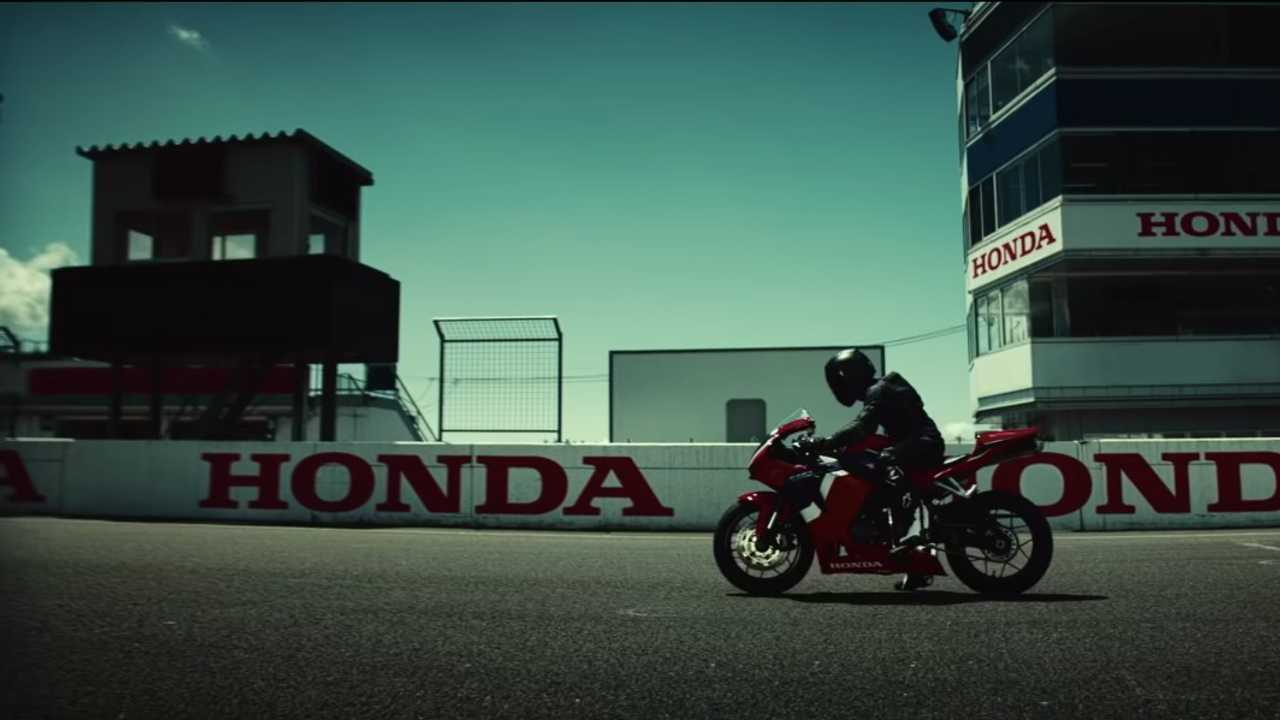 2021 Honda CBR600RR Teaser