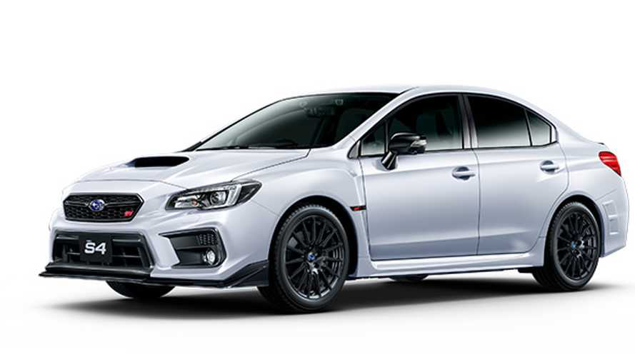 Japan-Only Subaru WRX S4 STI Sport # Offers Sharper Image