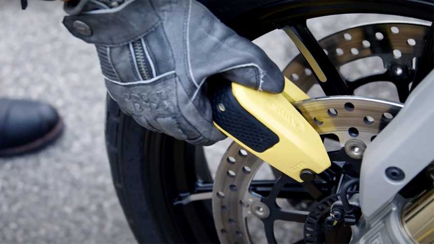 This Smart Bluetooth Motorcycle Lock Uses Your Phone As Its Key