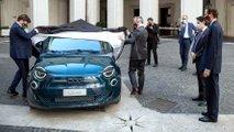 La Fiat 500 Elettrica dal Premier Conte