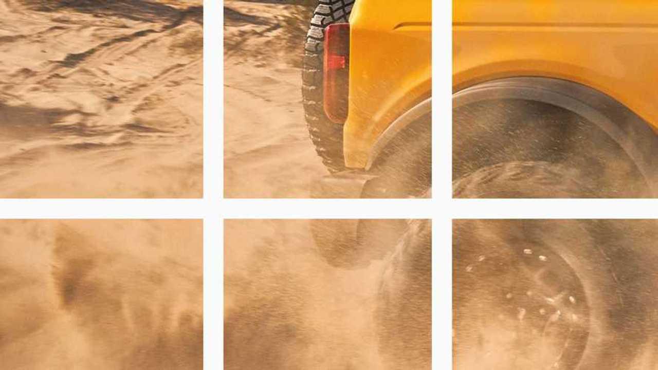 2021 Ford Bronco Teaser