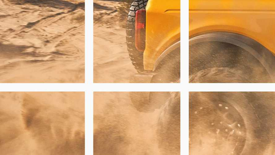 Latest 2021 Ford Bronco Teaser Suggests It's Hip To Be Square