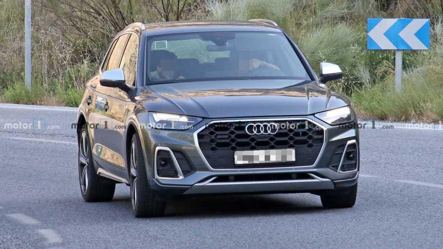 2020  Audi SQ5 makyaj casus fotoğraflar