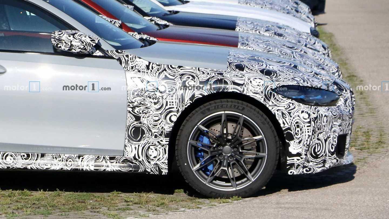 2021 BMW M3 Sedan Light Camo