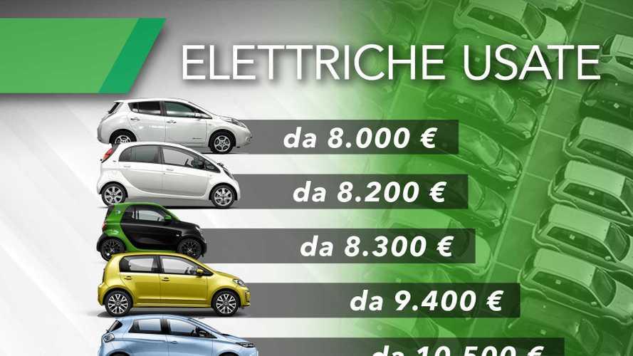 Le 10 auto elettriche usate con i prezzi più bassi (più un jolly)
