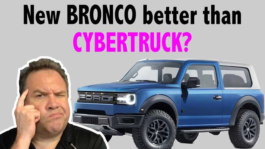 Ford Bronco Vs Tesla Cybertruck: Iconic Ford SUV Against Electric Pickup Truck