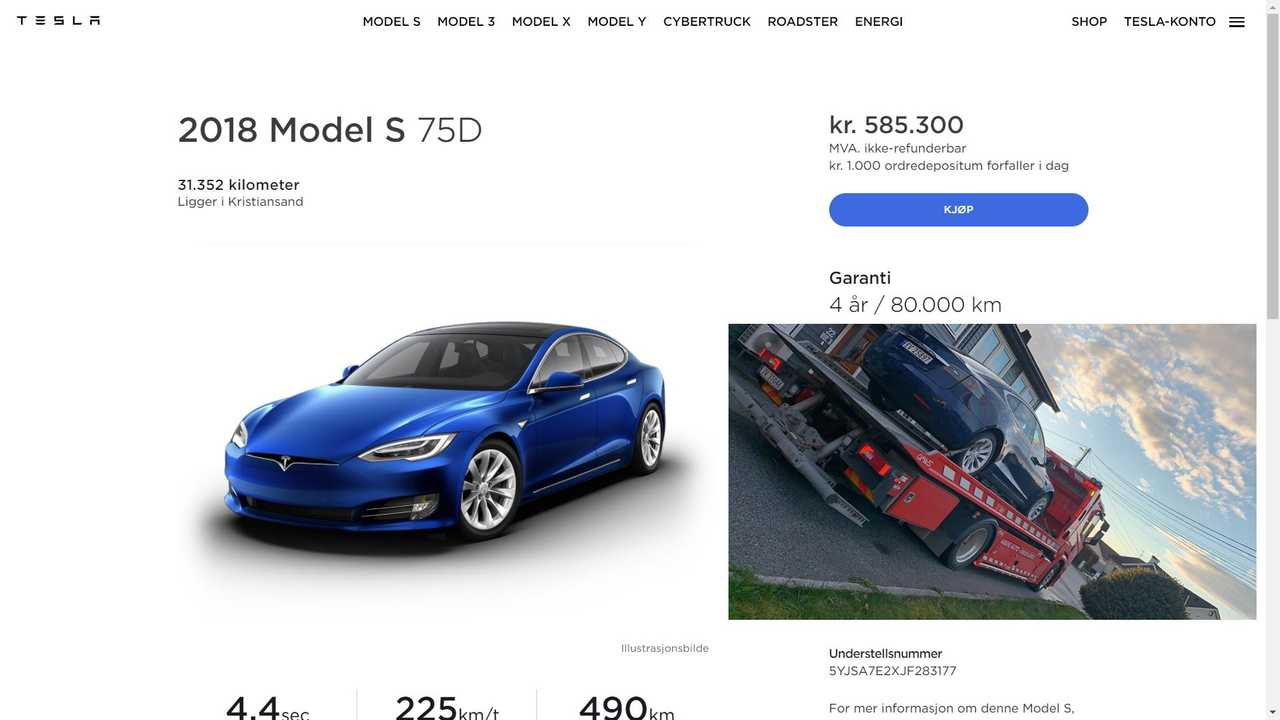 Check Evidence That Tesla Also Resells Defective Buyback Cars Abroad