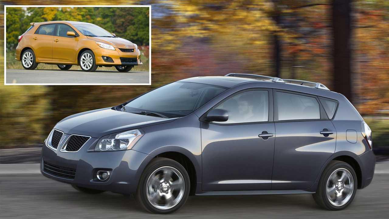 Pontiac Vibe – Toyota Matrix