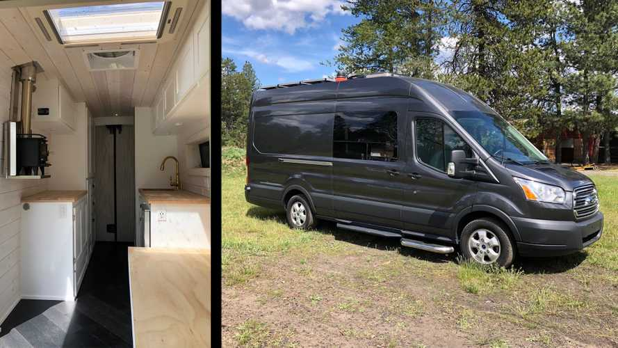 Tiny Home Maker Builds Its First Camper Van, And It's Impressive