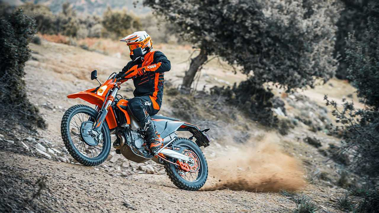 2021 KTM XC/EXC Off-Road Lineup Main