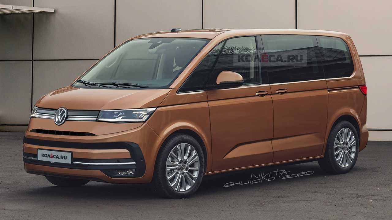 2020 Volkswagen Transporter T7 render