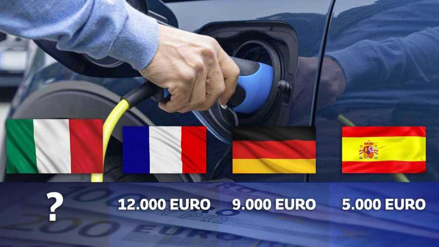 Incentivi auto, Italia e Europa a confronto