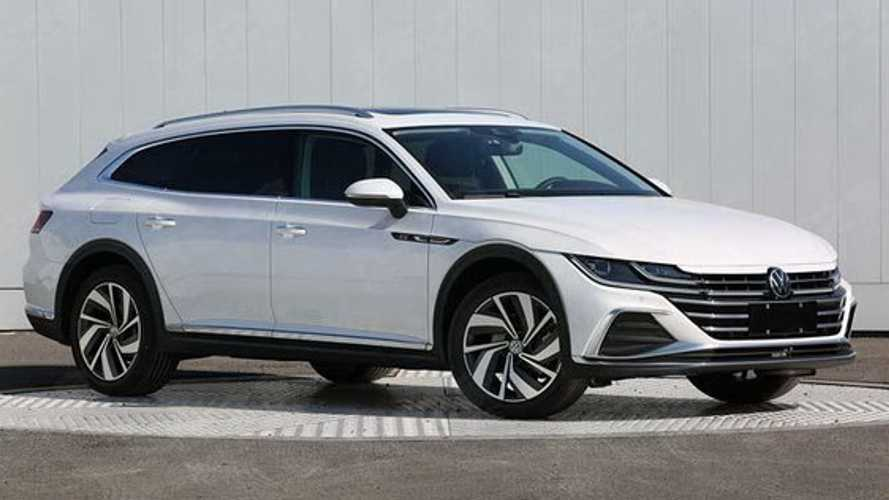 2021 VW Arteon Estate gets an early debut in China