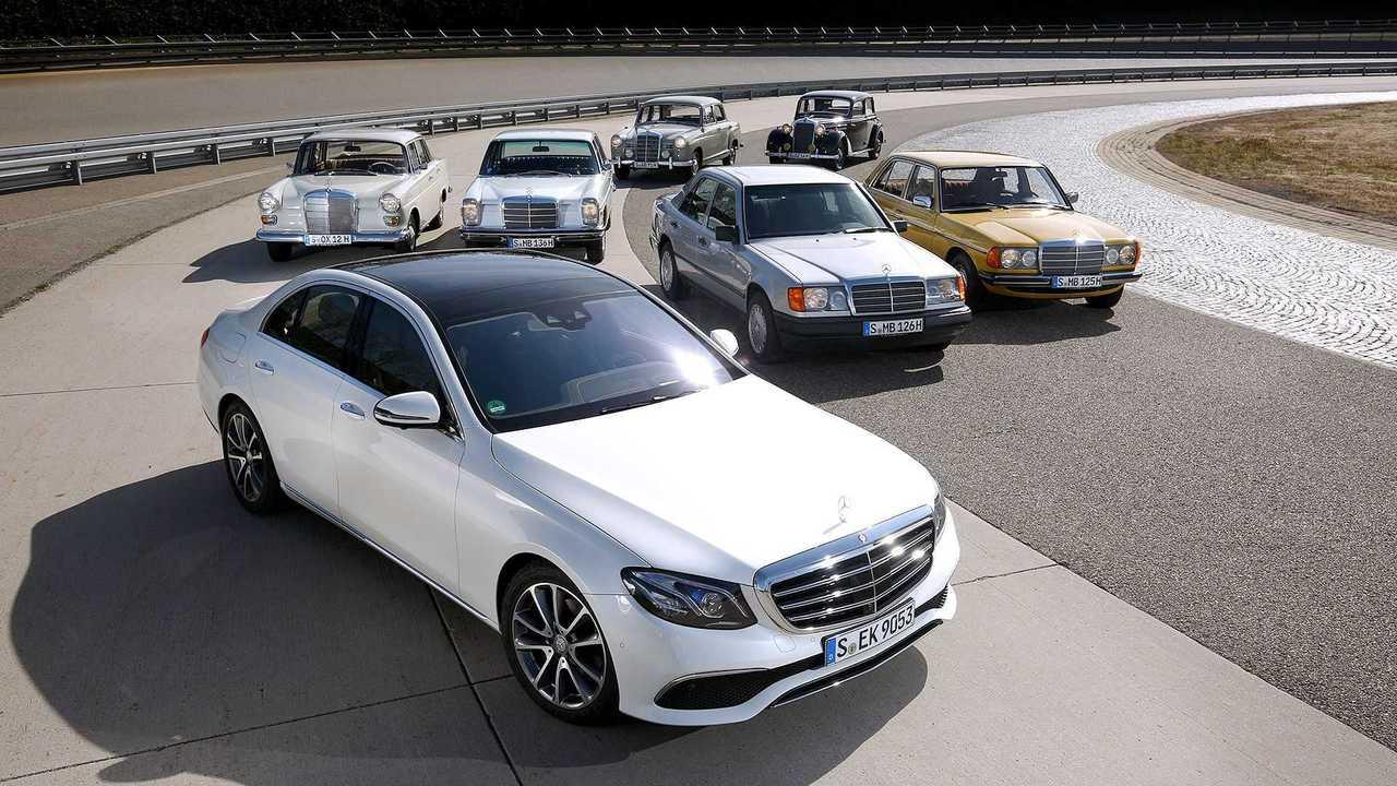 Geschichte der Mercedes E-Klasse