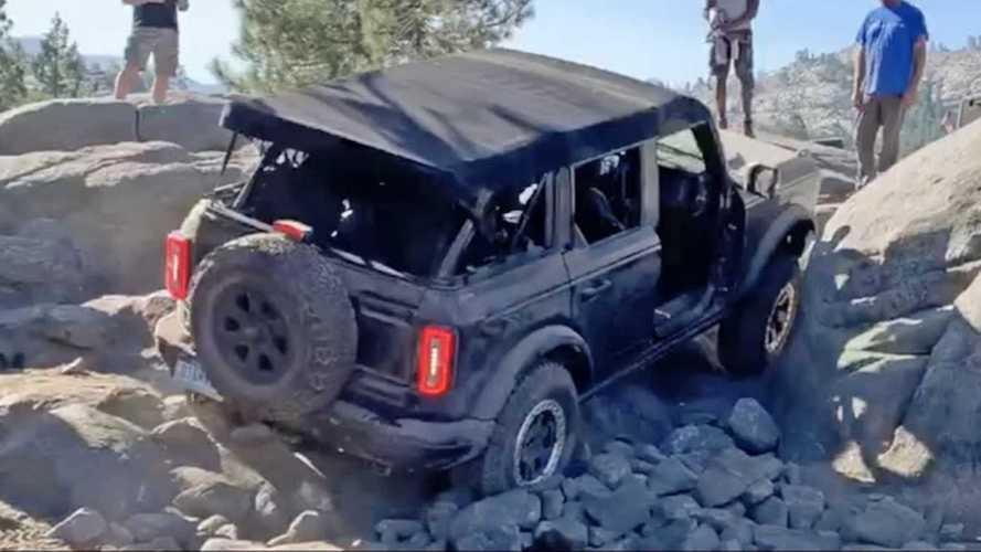 6 минут жести. Новый Ford Bronco Badlands против огромных камней