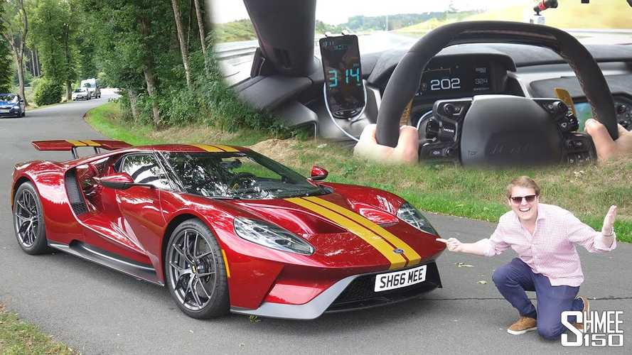 Watch Shmee Hit 202 MPH In His Ford GT Without Breaking Any Laws