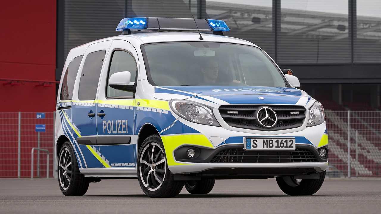 Polizeiautos in Deutschland: Mercedes Citan