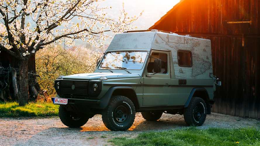 Lorinser converts a Puch G into a restomod expedition vehicle