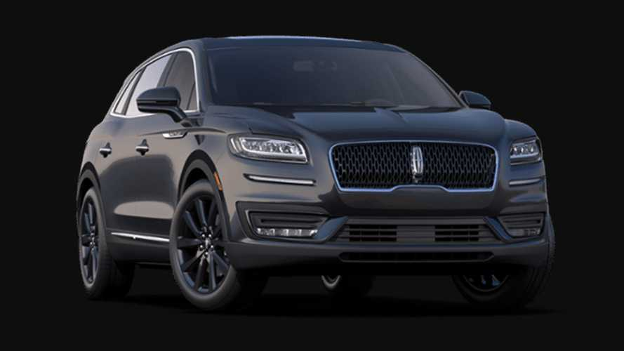 2020 Lincoln Nautilus Monochromatic Package
