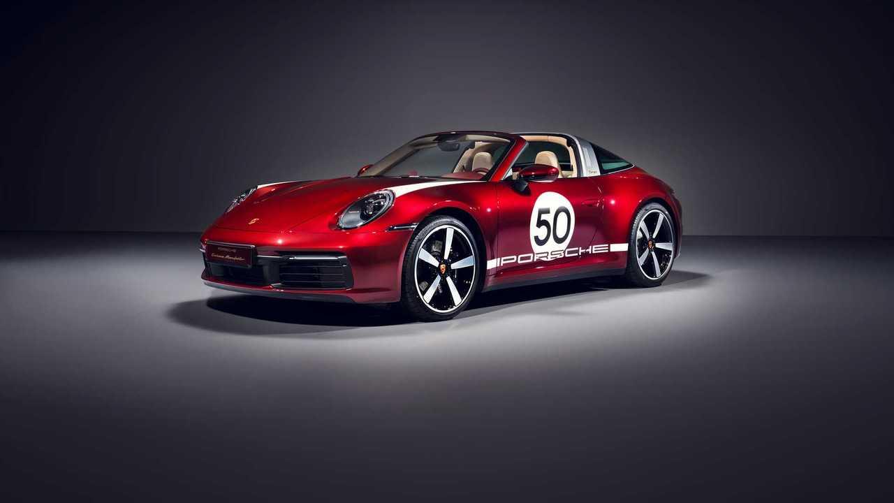 Porsche 911 Targa Heritage Design Edition 2020