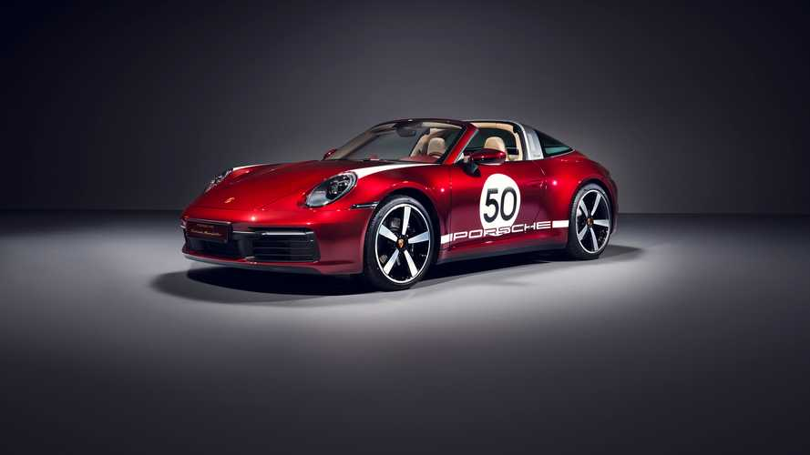 Porsche 911 Targa 4S (2020): Heritage Design Edition debütiert, sieht kirschig aus