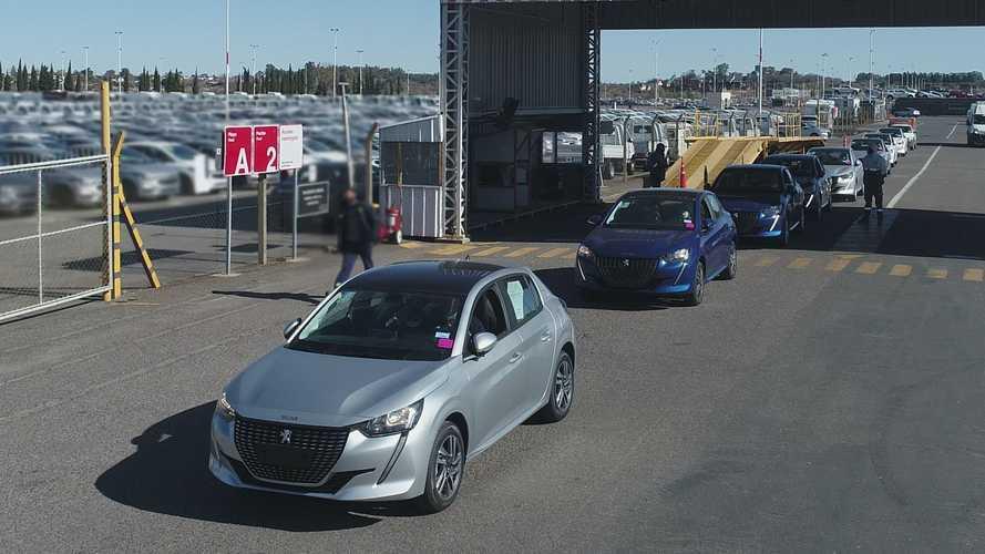 Novo Peugeot 208: primeiro lote sai da Argentina com destino ao Brasil