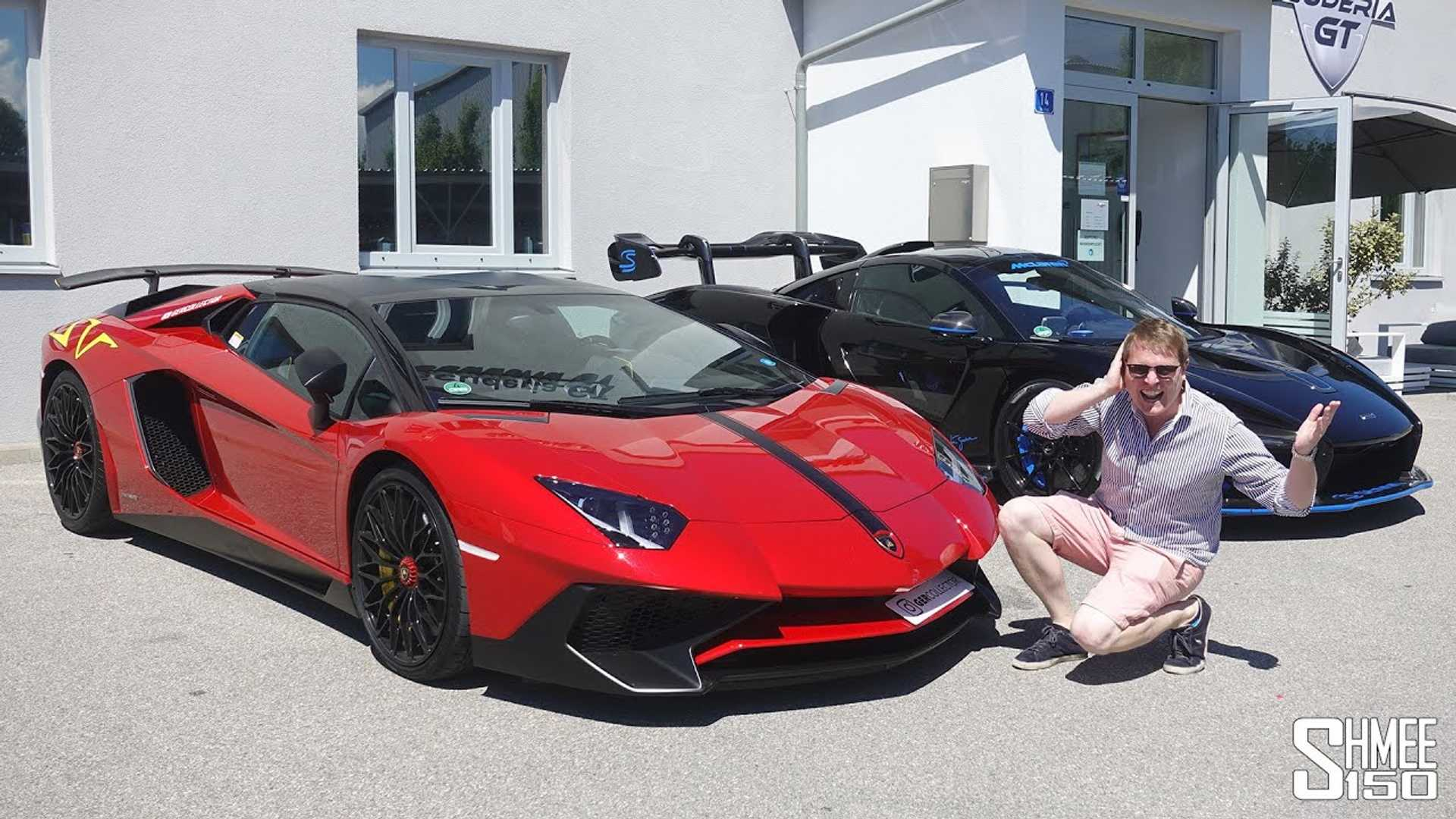Shmee Drives The Loudest Lamborghini Aventador Sv In The World