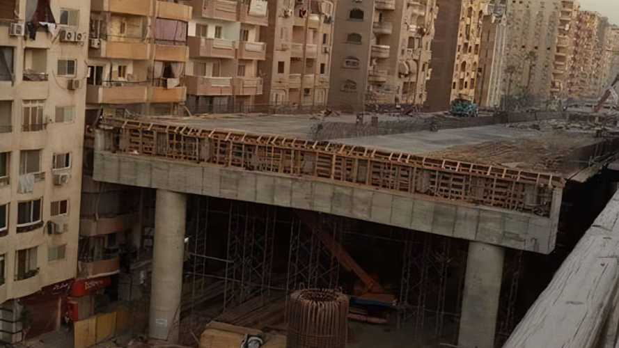 Pont autoroutier Egypte
