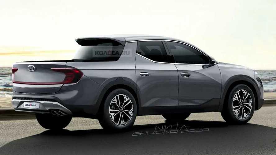 Hyundai Santa Cruz 2021 - Novas projeções