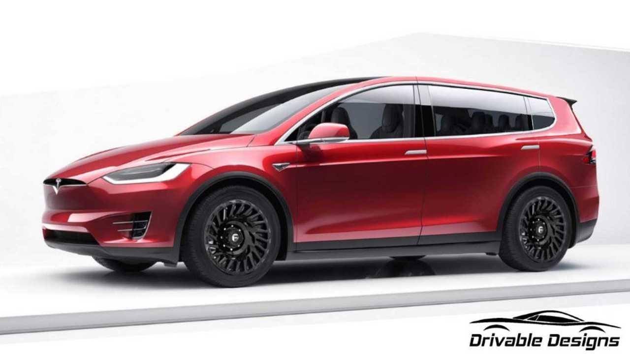 Tesla Model XL Hayali Tasarımı (Render)
