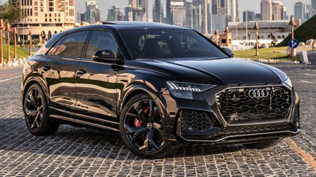 Audi RS Q8 without petrol particulate filter sounds demonic