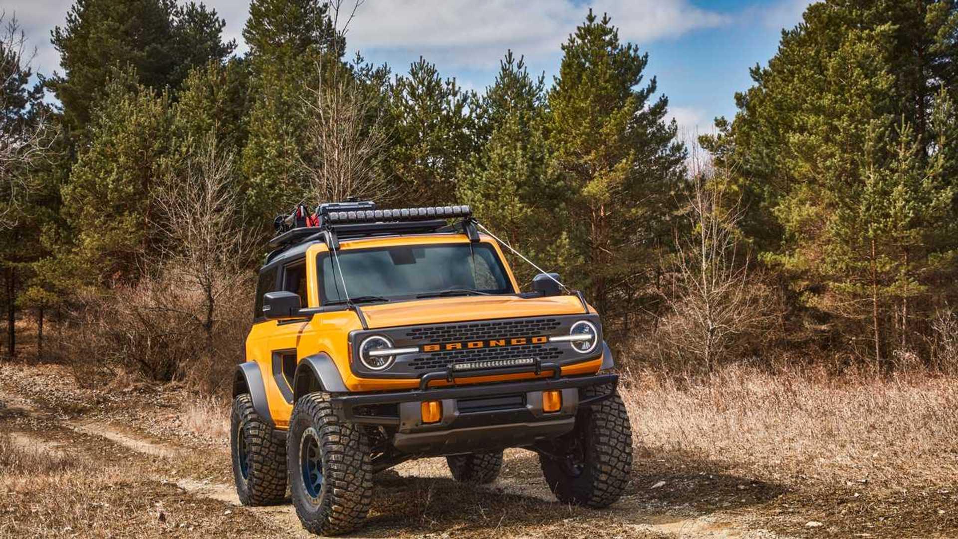 2021 Ford Bronco Pricing 2 Door And 4 Door Models
