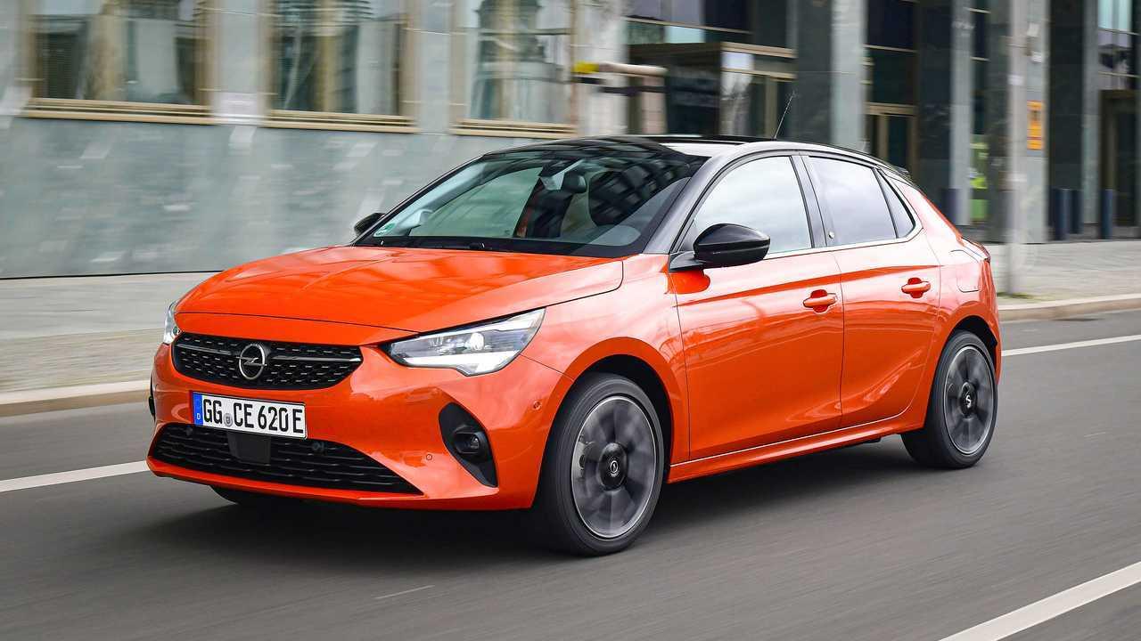 Opel Corsa-e - movimento 3/4