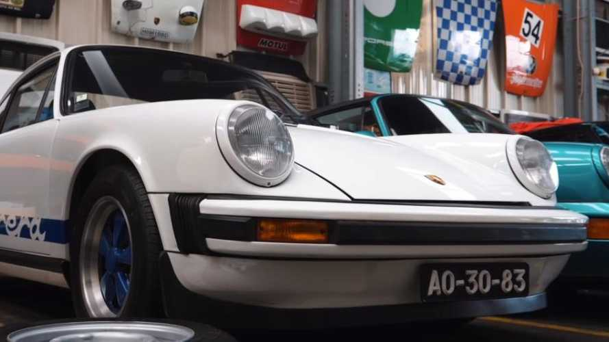 Watch: £20 million of classic Porsches stashed in Lisbon garage