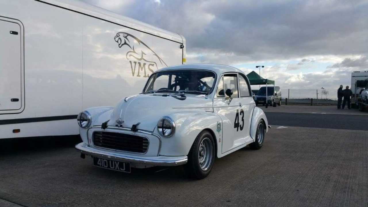 This Morris Minor could be the cheapest way into Goodwood