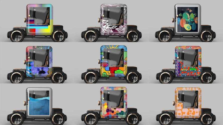 Quando l'auto (elettrica) si fonde con l'arte: la mostra