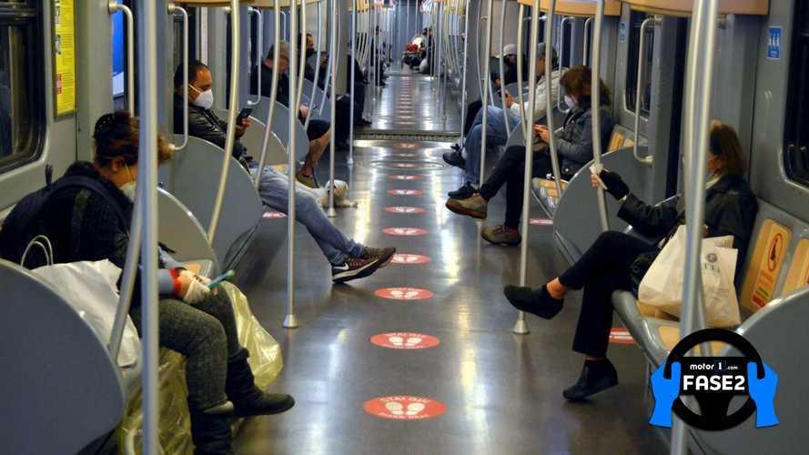 Fase 2 e trasporto pubblico, le linee guida per autobus e metro