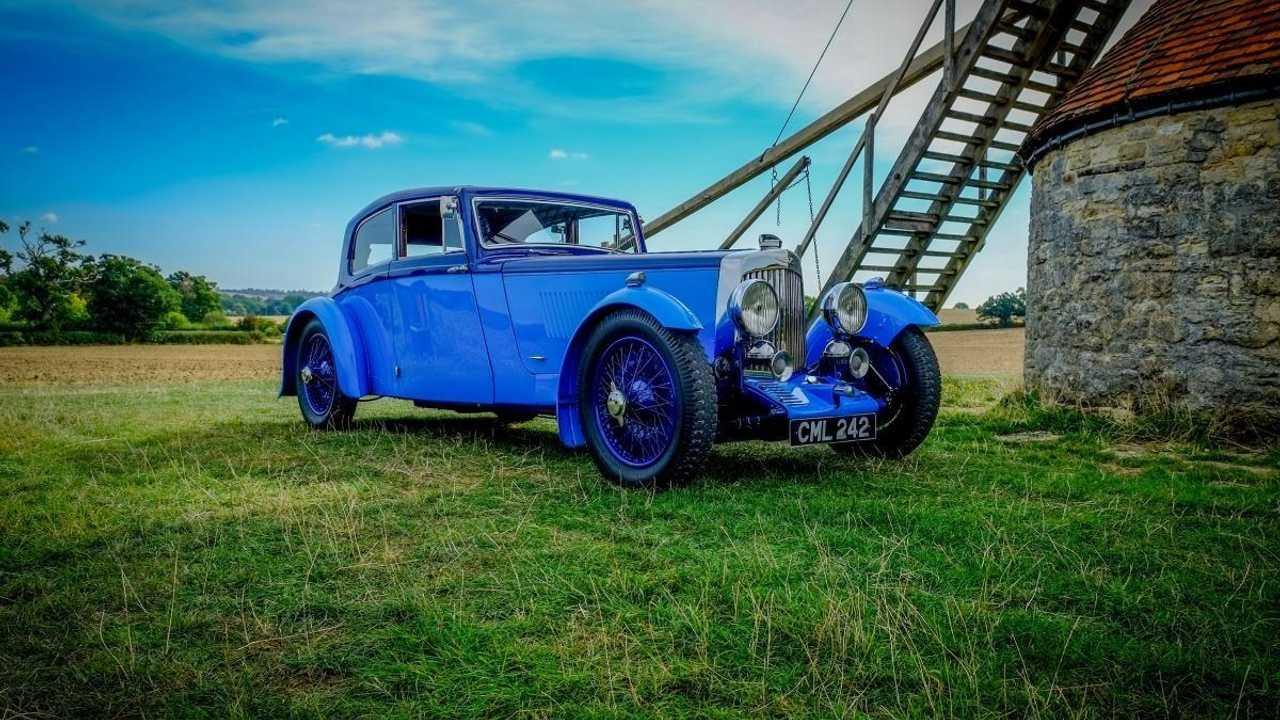 Classics for sale: 1934 Aston Martin Mk2 Special Sports Saloon