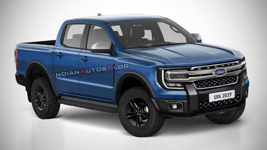 Segredo: Nova Ford Ranger 2022 terá versão híbrida e motor V6 a diesel