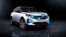 peugeot 3008 restyle points