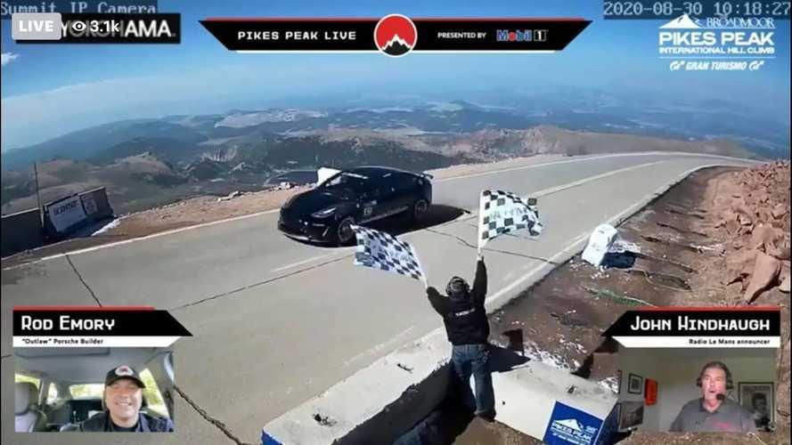 Tesla Model 3 Pikes Peak: Unplugged Performance Shares Inspiring Story