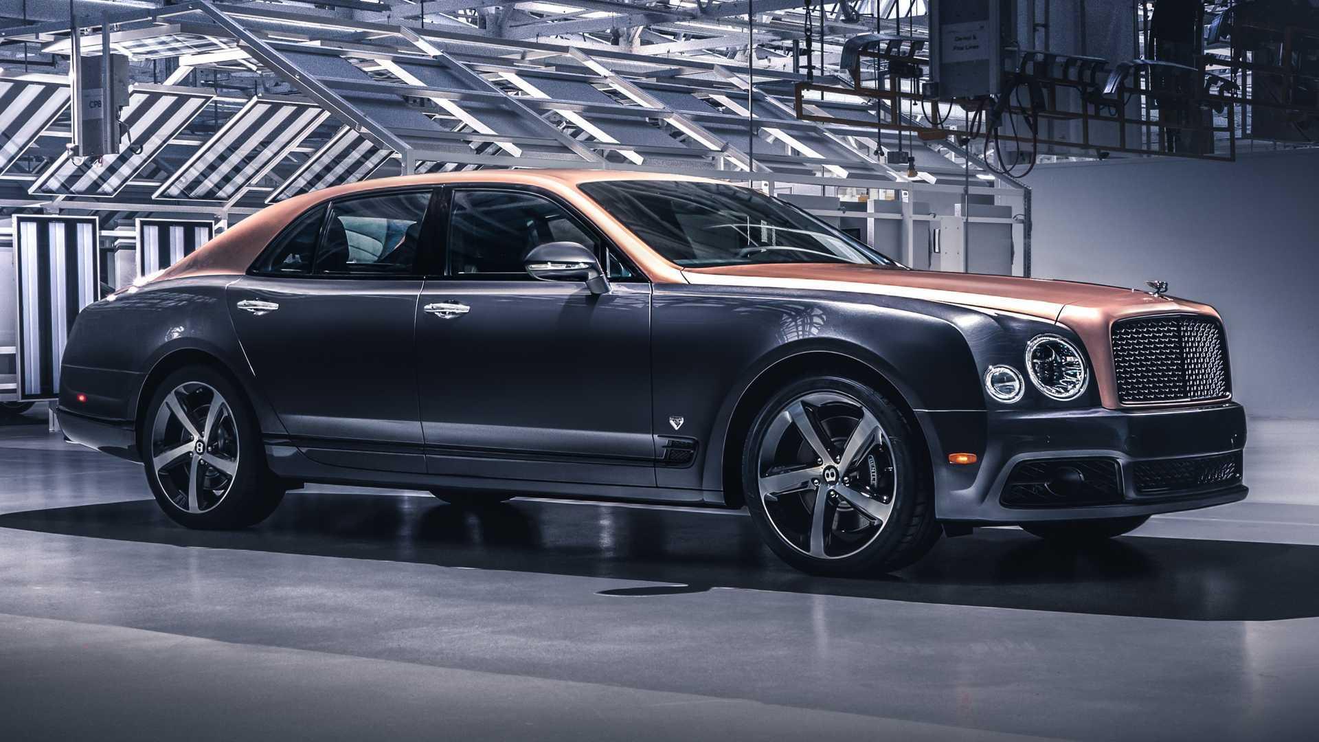 Final Bentley Mulsanne Assembled Flying Spur Becomes Flagship